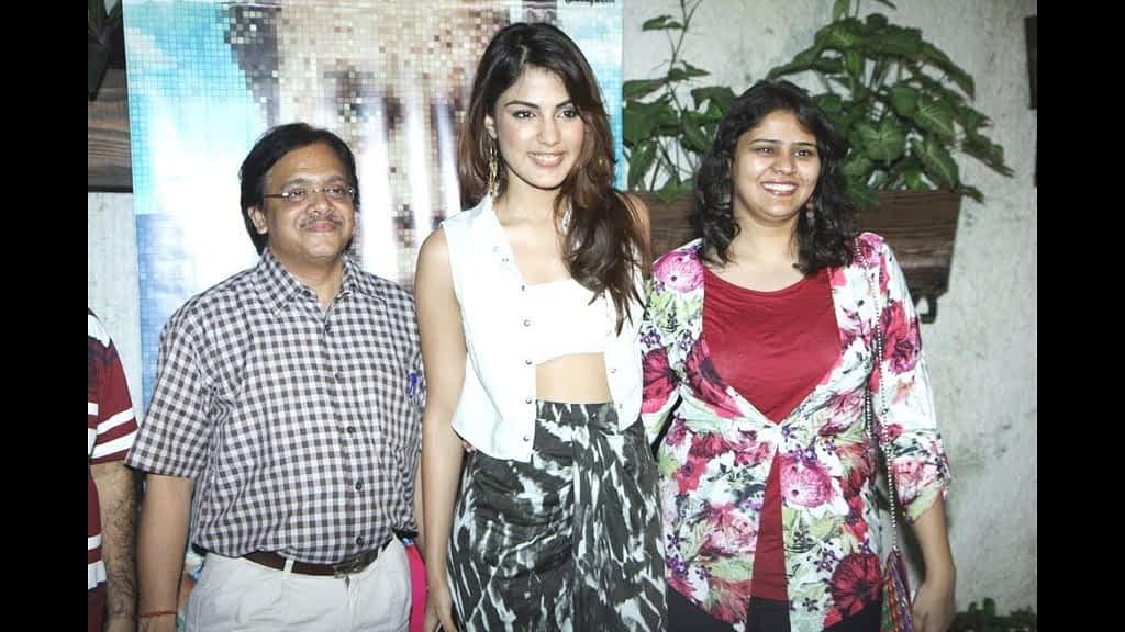 Rhea Chakraborty family