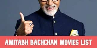 Amitabh Bachchan All Movies List, Filmography (1969-2020)