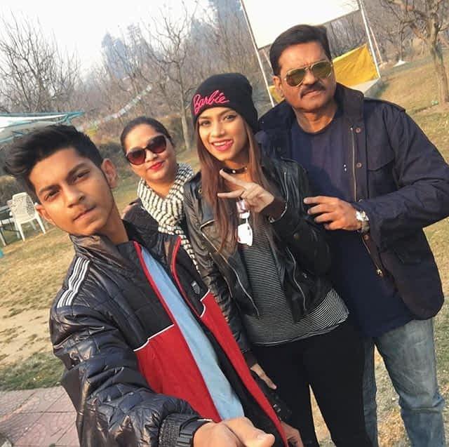 Nagma Mirajkar family