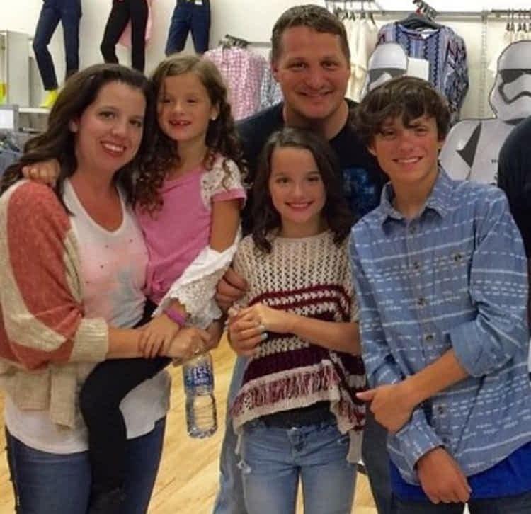 Annie LeBlanc family