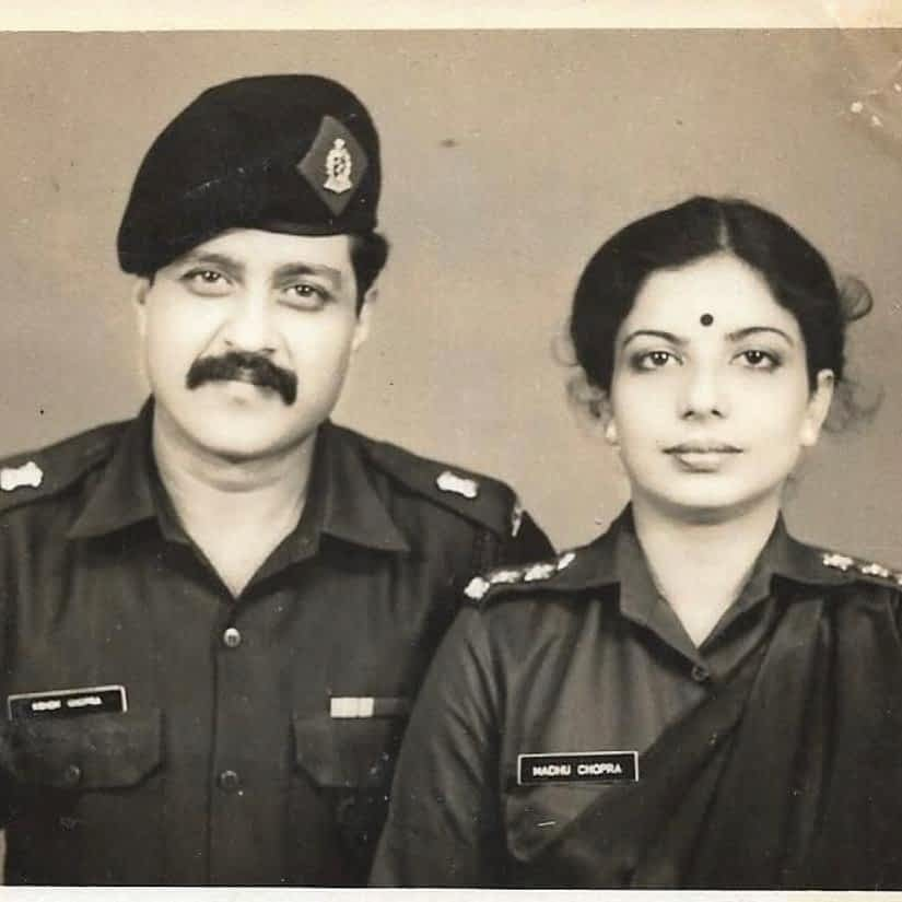 Priyanka Chopra Parents